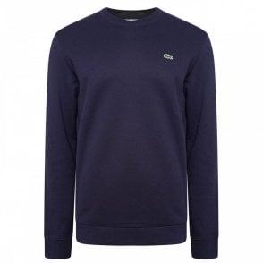 9ab651a5c Lacoste Core Sweatshirt in Navy