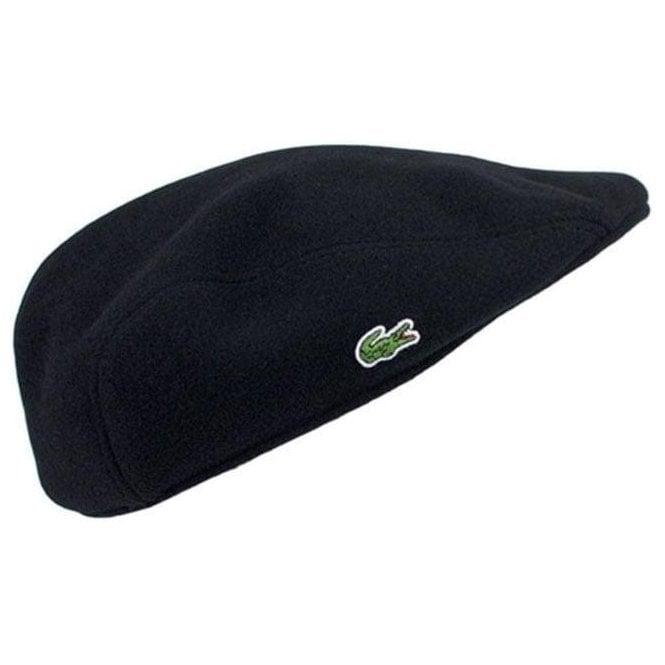 a8e9ff2c Lacoste Lacoste Flat Cap in Black