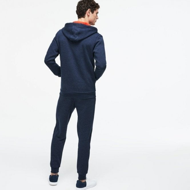 6b5a0491 Lacoste Lacoste Hooded Fleece Zip Sweatshirt in Navy