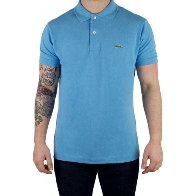 e5da83ad3c Lacoste Classic Polo Shirt in Sky Blue