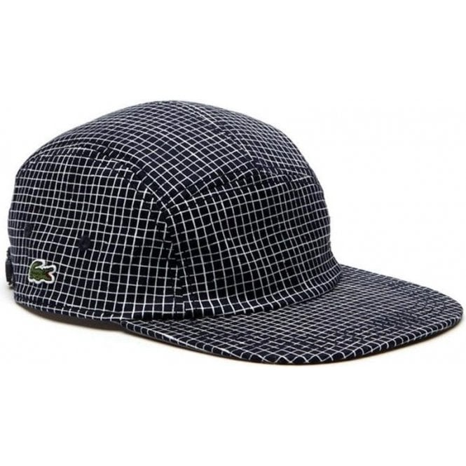 383cada1ce6 Lacoste Live Check Cap in Navy and White