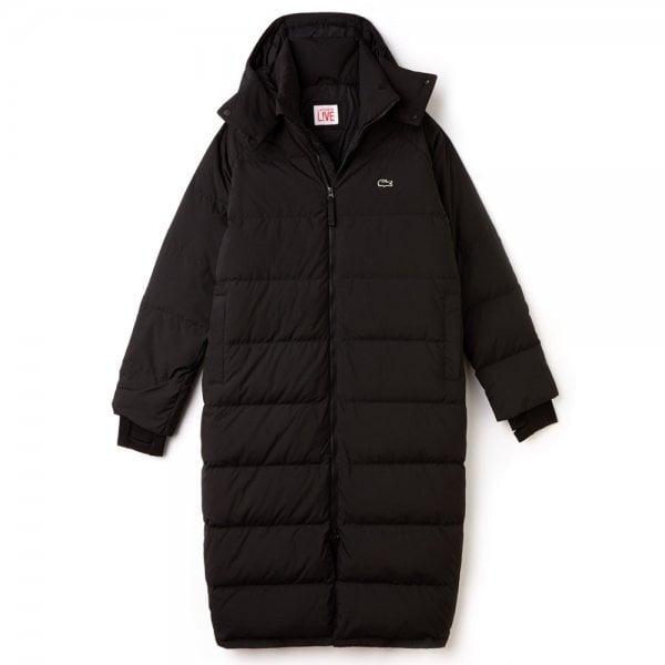 6fc722f3 Taffeta Quilted Coat in Black