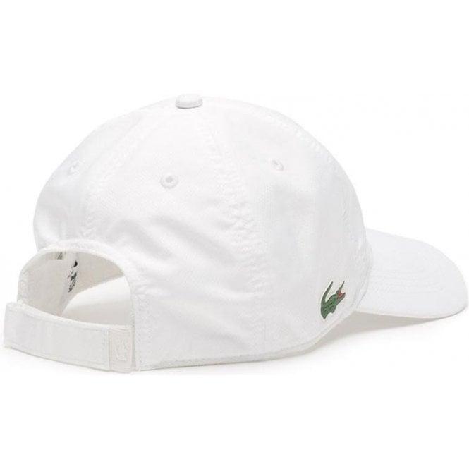 f08a829c Lacoste|Lacoste Sport Cap 2 in White|Chameleon Menswear