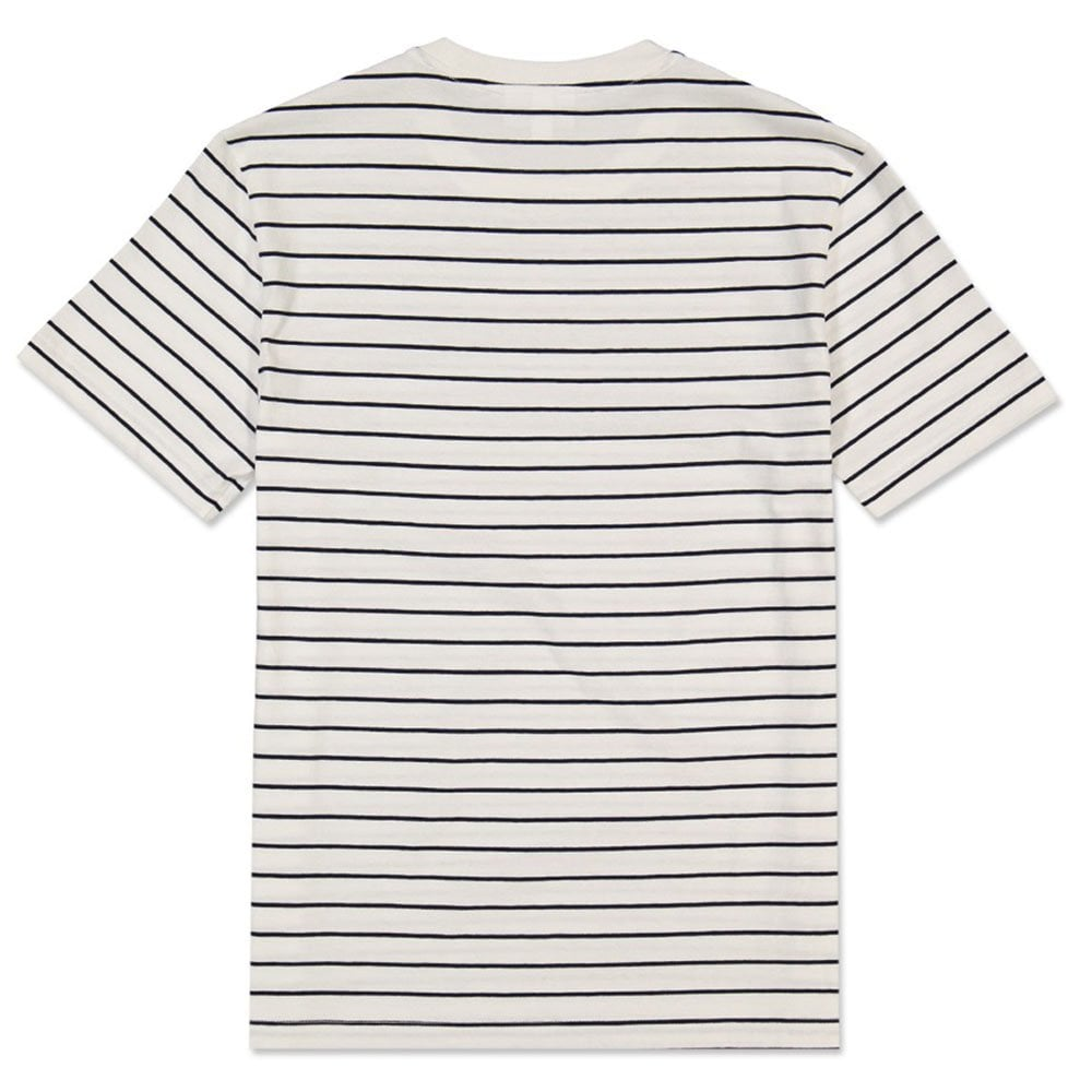 7afab95d28941 Striped T-Shirt in Flour Navy