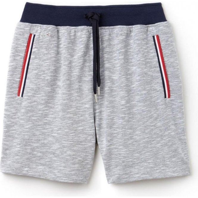 7194f91615bb6 Lacoste USA Lounge Shorts in Grey