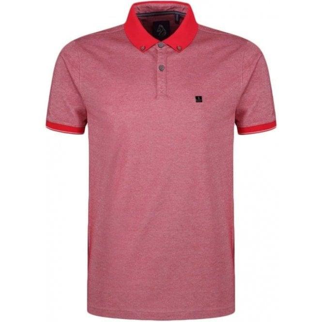 Luke Roper Kravitz Polo Shirt in Red 51de43132521
