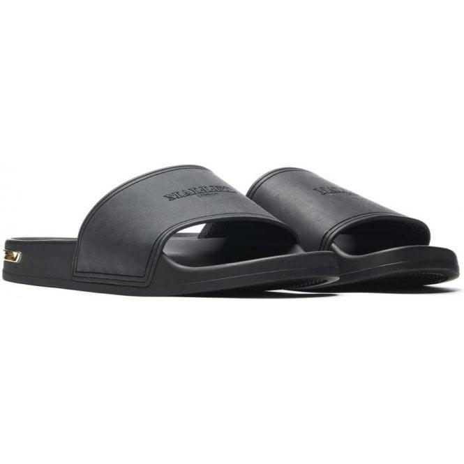 Mallet Footwear|Mallet Sliders in Black