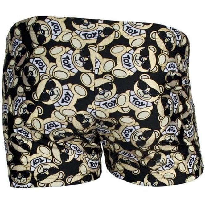 f054297578 Moschino Swim Bear Swim Shorts in Black