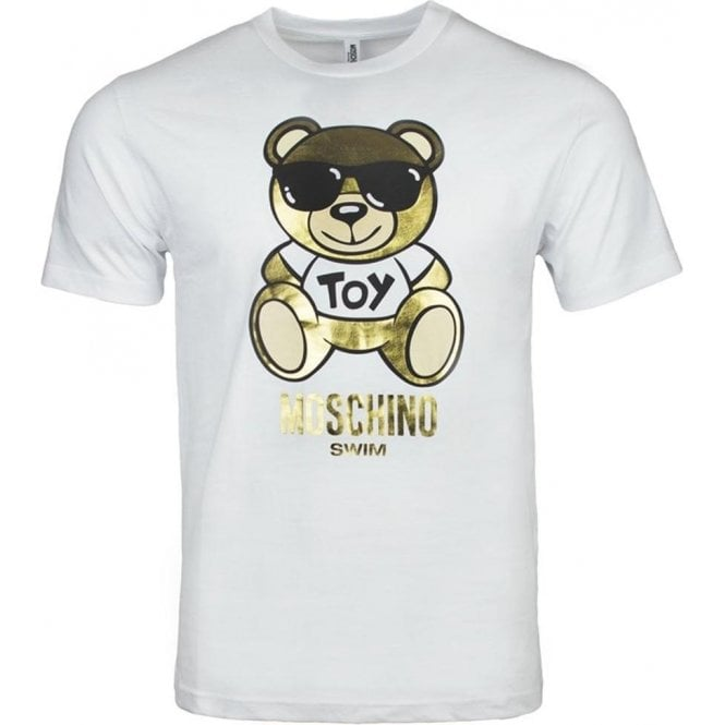 860cc42ae4 Moschino Swim Bear Toy T-Shirt in White