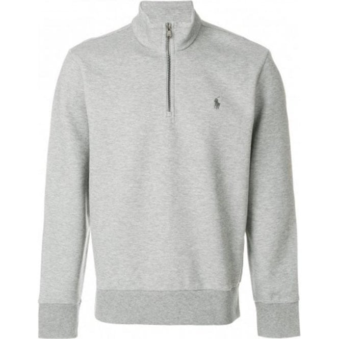 Zip Lauren Half Sweatshirt In Grey Polo Ralph EDYH9I2W