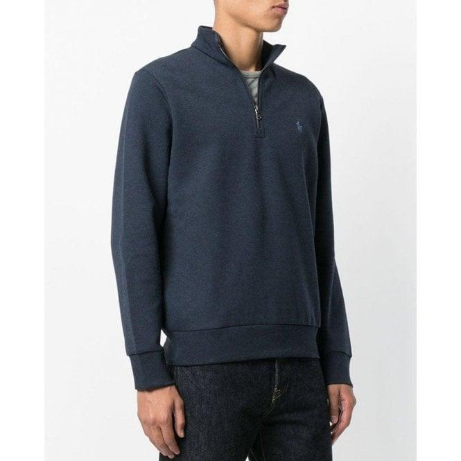 052544f86f6d9e Polo Ralph Lauren|Half Zip Sweatshirt in Navy|Chameleon Menswear