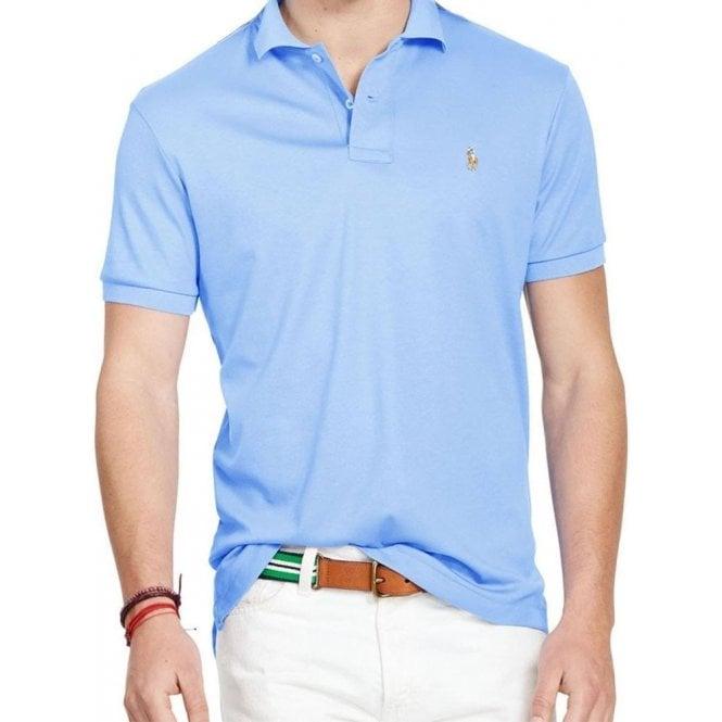 Polo Shirt In Blue Oxford Baby Lauren Ralph ymOPv8nNw0