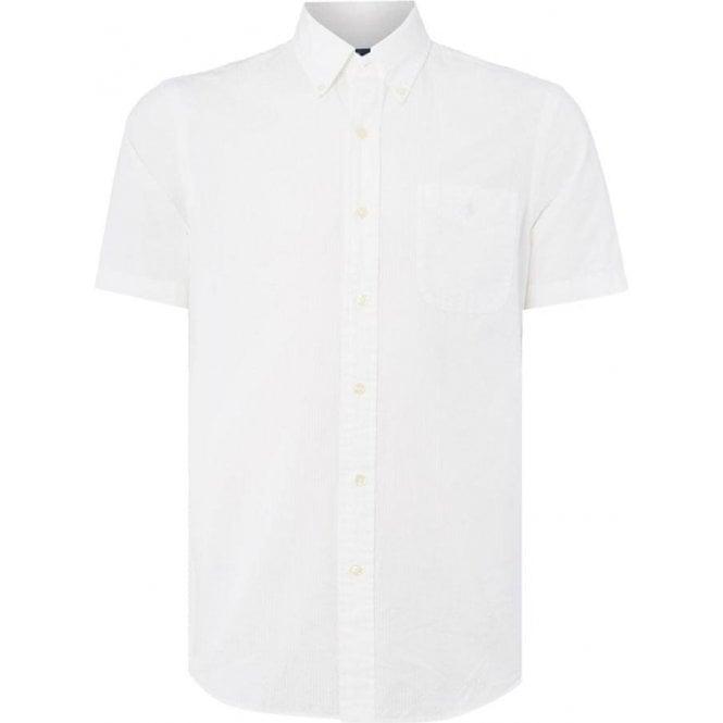 Ralph Lauren In White Polo Sleeve Shirt Short Linen 5LR4jA