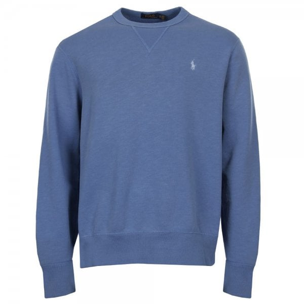 Blue Polo Sweatshirt Lauren Ralph In hdtsrQC