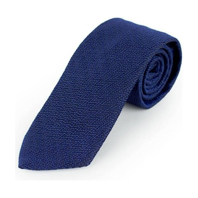 BOSS Business Boss Black Ties Tie 7.5 in Navy