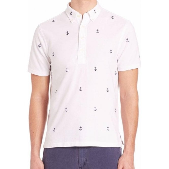 Polo Ralph Lauren Anchor Polo Shirt in White