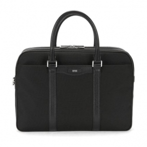 Boss Black Signature_Doc Laptop Bag in Black