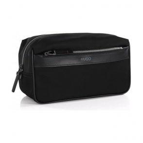 Hugo Bag Digital Washbag in Black