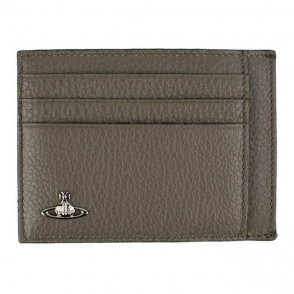 Vivienne Westwood Card Holder Wallet in Grey