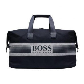 Boss Green Pixel JHoldall Bag in Navy
