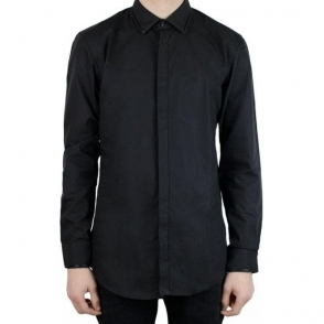 Hugo C-Julian Formal Shirt in Black