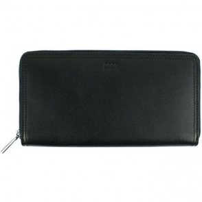 Milano_S Zip Wallet in Black
