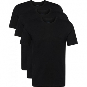 Boss Black Tee 3 Pack T-Shirts in Black