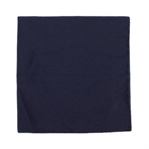 Pocket Square in Navy