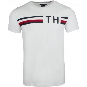 Tommy Hilfiger Graphic T-Shirt in White