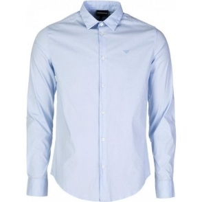 Emporio Armani Core Shirt in Sky Blue