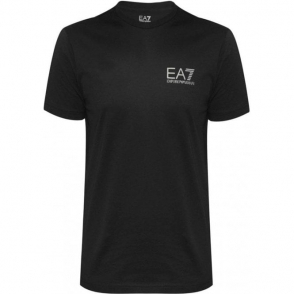 Jersey T-Shirt in Black