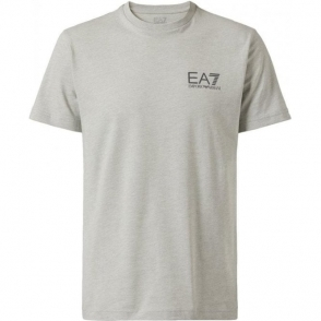 Jersey T-Shirt in Light Grey