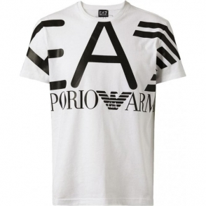 Big Logo T-Shirt in White