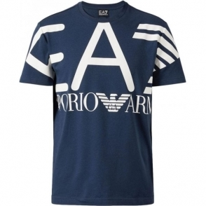 Big Logo T-Shirt in Navy