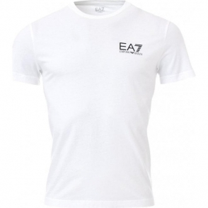 EA7 Jersey T-Shirt in White