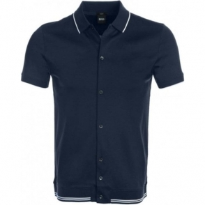 Boss Casual Puno 06 Shirt in Navy