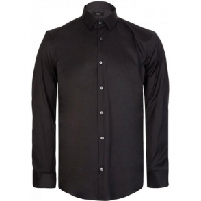 Isko Formal Shirt in Black