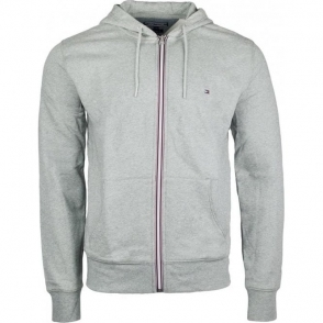 Tommy Hilfiger Core Zip Sweatshirt in Grey