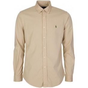 Long Sleeve Shirt in Beige