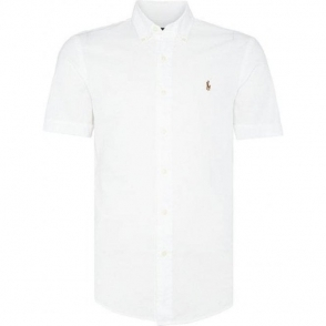 Short Sleeved Shirt in White