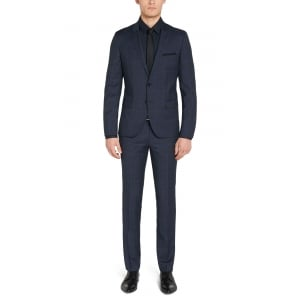 Suit Checked Slim Fit Arti1/heibo3 In Navy