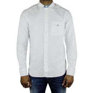 Vivienne Westwood Detachable Details Formal Shirt in White