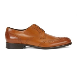 Boss Black Manhattan Shoes in Brown