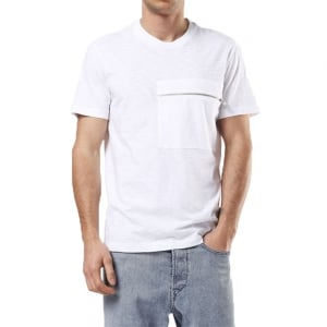 Diesel T-Det T-Shirt in White
