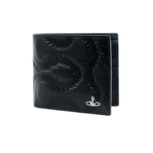 Vivienne Westwood Squiggle Wallet in Black