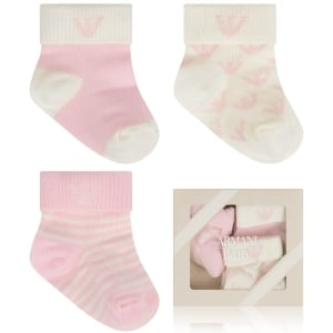 Armani Junior Sock Care in Pink