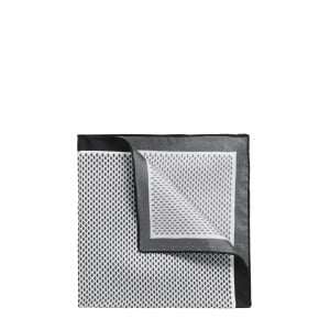 Pocket Square in Black and White