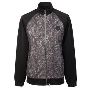 Pretty Green Paisley Jacket in Black