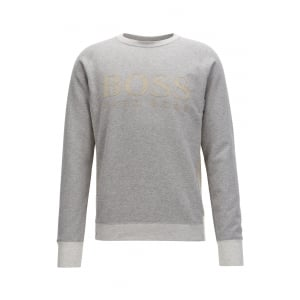 Boss Orange Wenga Sweatshirt in Grey
