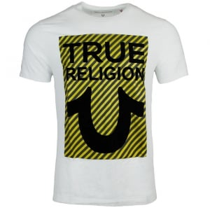 True Religion True U T-Shirt in White